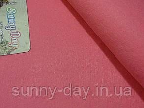 Фетр мягкий, цвет - насыщенный розовый