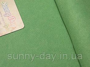 Фетр мягкий, цвет - серо-зеленый