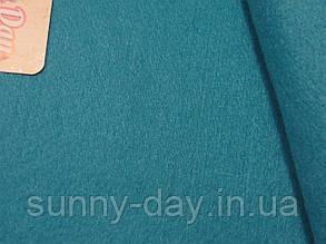 Фетр мягкий, цвет - темно голубой