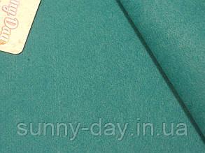 Фетр мягкий, цвет - морская волна