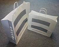Новые большие бумажные пакеты Мonton (Монтон) 54х42х12,3см.