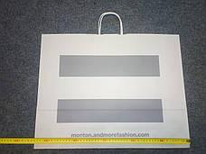 Новые большие бумажные пакеты Мonton (Монтон) 54х42х12,3см., фото 2