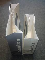 Новые большие бумажные пакеты Мonton (Монтон) 54х42х12,3см., фото 3