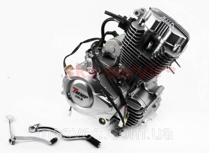 Двигатель мотоциклетный в сборе CGВ-200cc