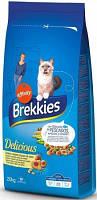 Brekkies Cat Delice Fish Корм премиум класса Брекис для кошек с рыбой 20 кг