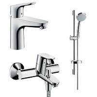 Набор смесителей для ванны Hansgrohe Focus 31607000+31940000+27772000