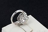 Позолоченное кольцо с цирконами код 268, фото 6