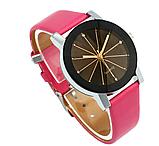 Наручные женские кварцевые часы с розовым ремешком код 153, фото 3