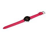 Наручные женские кварцевые часы с розовым ремешком код 153, фото 6
