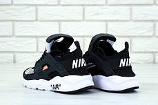 Женские кроссовки Nike Air Huarache Off White Black, фото 3