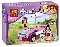 Конструктор Bela Friends Спортивный автомобиль Эммы 10154