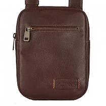 Мужская сумка из натуральной кожи фирмы Vittorio Safino, фото 3