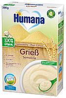 Каша Humana безмолочная пшеничная органическая сухая
