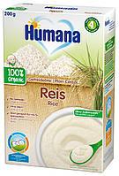 Каша Humana безмолочная рисовая органическая сухая