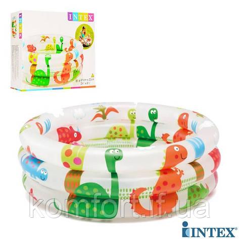 Детский надувной бассейн Intex 57106 Динозаврики, фото 2