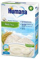 Каша молочная Humana рисовая сухая 200г