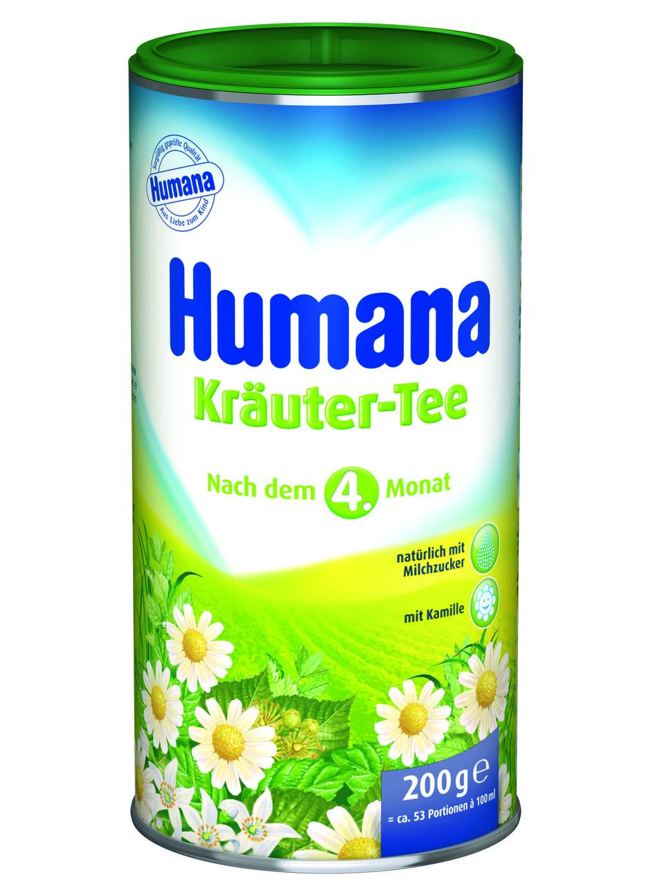 Чай растворимый Humana Травяной сбор с ромашкой 200 г