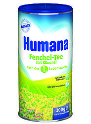 Чай растворимый Humana Фенхель с тмином 200 г