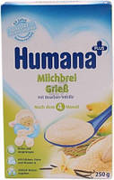 Каша сухая молочная Humana кукурузно-рисовая с ванилью сухая 250