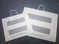 Новые бумажные пакеты Мonton (Монтон) 39,5х33см.