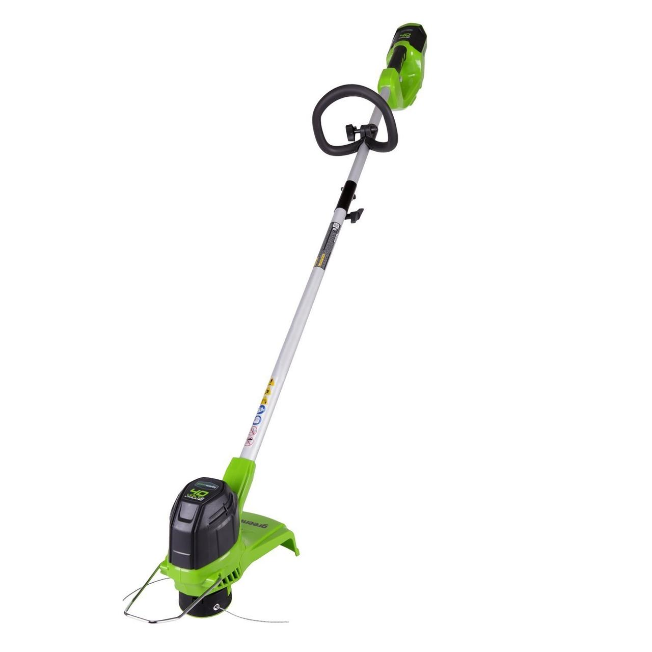 Аккумуляторный триммер для травы 40 V Greenworks G40LT ( BST4000 )