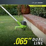 Аккумуляторный триммер для травы 40 V Greenworks G40LT ( BST4000 ), фото 4