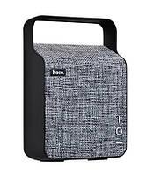 Колонка портативная Hoco BS6 NuoBu desktop Bluetooth speaker 6 Вт Grey (38-SAN175-1)