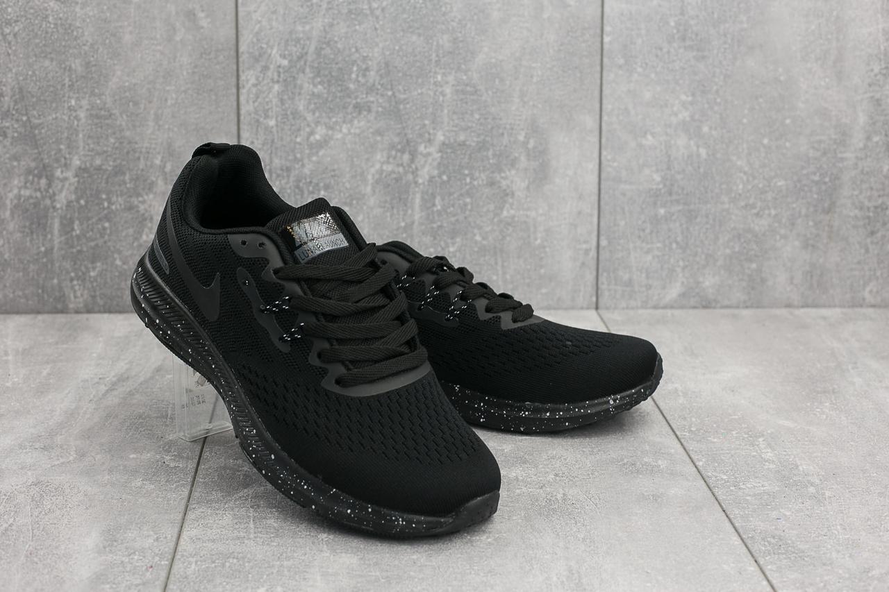Кроссовки A 1802 -3 (Nike Lunar) (весна/осень, мужские, текстиль, черный) OY о