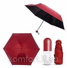 Компактный зонт в чехле-капсуле, фото 2