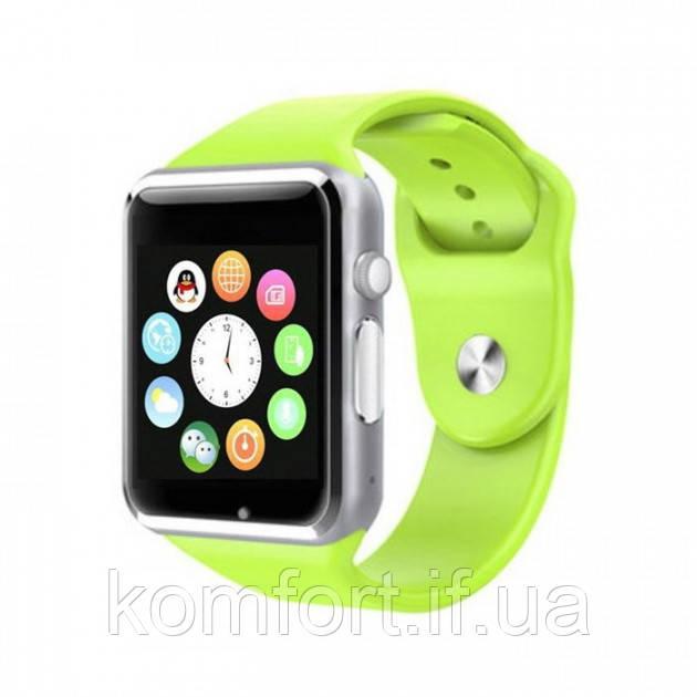 Умные смарт часы Smart watch A1 Зеленый