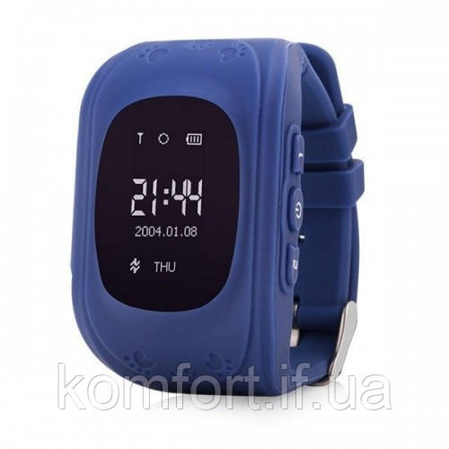 Детские смарт часы Smart Baby Watch Q50 Dark Blue