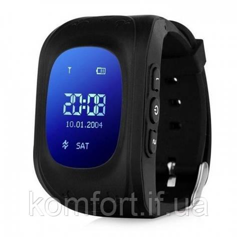 Детские смарт часы Smart Baby Watch Q50 Black, фото 2
