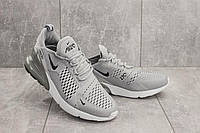 Кроссовки А 358 -7 (Nike AirMax 270) (весна/осень, мужские, текстиль, серый)