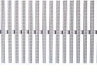 Переливная решетка Gemas Model 2001 одинарное соединение
