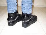 Ботинки женские зимние черные С505, фото 3