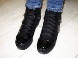 Ботинки женские зимние черные С505, фото 4