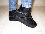 Ботинки женские зимние черные С505, фото 7
