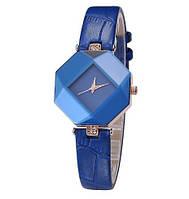 Женские наручные часы с синим ремешком код 235, фото 1