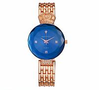 Женские наручные часы с золотистым ремешком код 236, фото 1