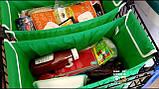 Сумка для покупок в супермаркете с креплениями Grab Bag 2 шт., фото 2