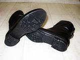 Ботинки женские черные натуральная кожа Д494, фото 3