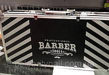 Чемодан мастера металлический для Barber