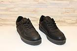 Слипоны черные женские на шнурках Т673, фото 3