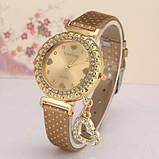 Наручные женские часы c золотистым ремешком код 246, фото 2