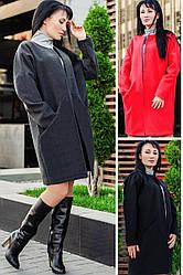 Пальто женские оптом *МАРГАРИТА* до р.60