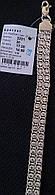 Серебряный браслет 925 пробы Арабка с камнями двойная