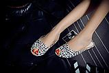 Шльопанці жіночі леопард Б767, фото 2