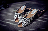 Шльопанці жіночі леопард Б767, фото 3