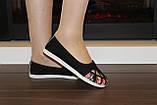 Балетки жіночі чорні Т770, фото 7