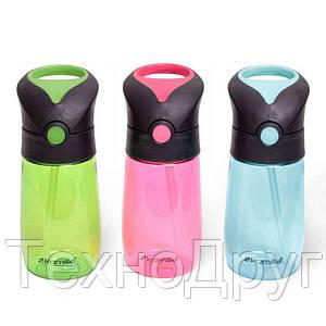 Детская бутылка для воды на 350 мл Kamille KM-2300